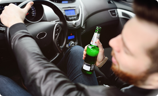 Driving with excess alcohol