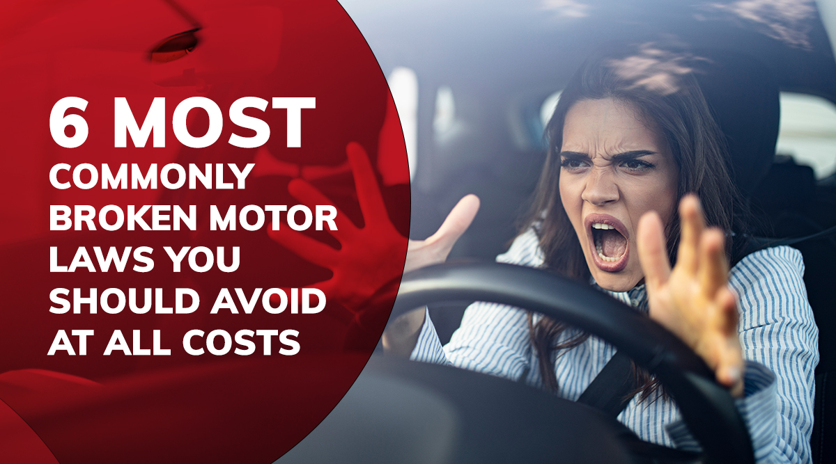 Most Commonly Broken Motor Laws
